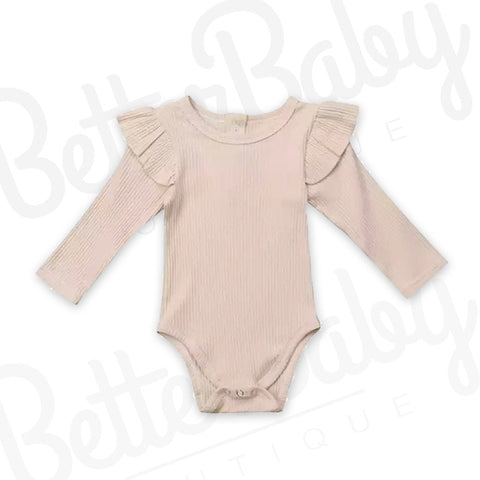 Rib You Not Baby Romper