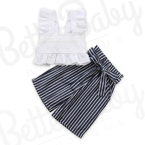 Ruffled Straight Baby Girl Outfit