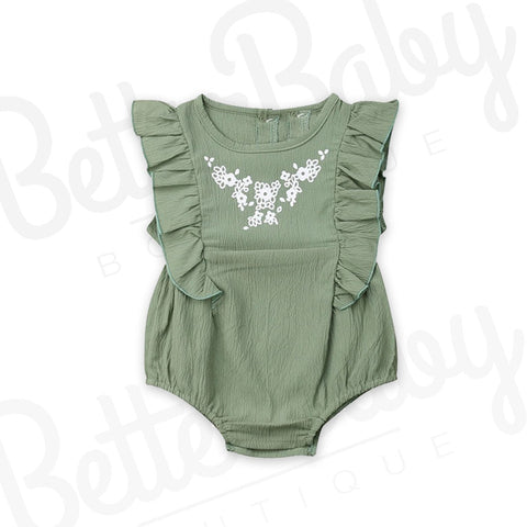 Jaded Baby Girl Romper