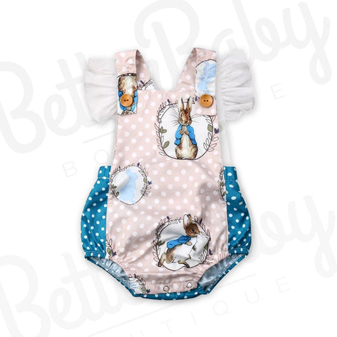 Some Bunnys Baby Romper