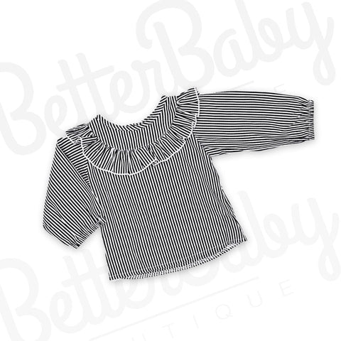 Keep In Line Baby Blouse