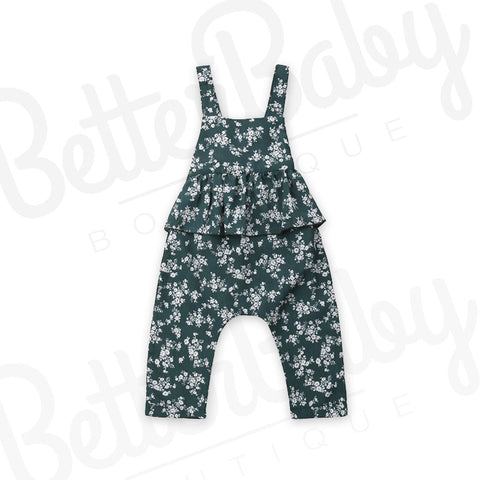 Budding In Baby Romper