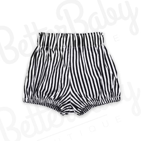 Chic To Go Striped Baby Shorts