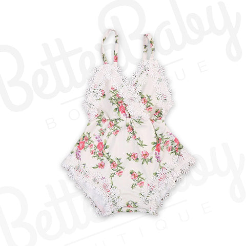 Never Leaf You Baby Romper