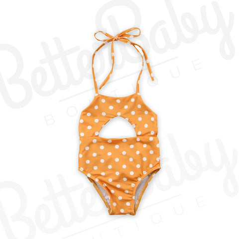 Cute Dot Com Baby Bathing Suit
