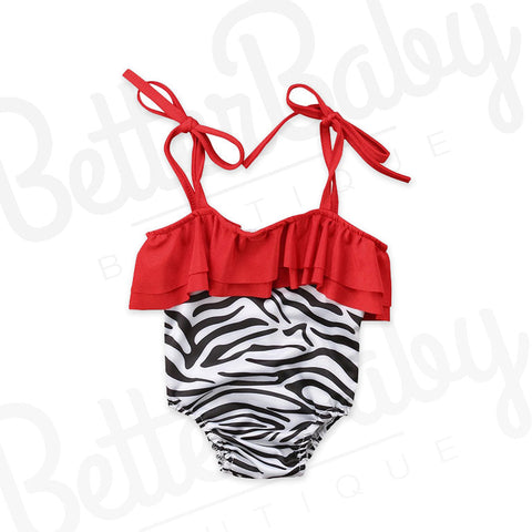 Earn Your Stripes Baby Bathing Suit
