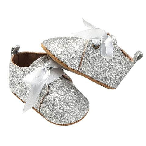 Knot Me Tied Glitter Slippers