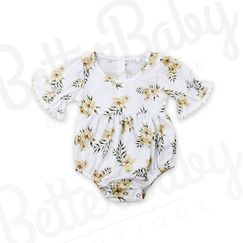 Leaf An Impression Baby Romper