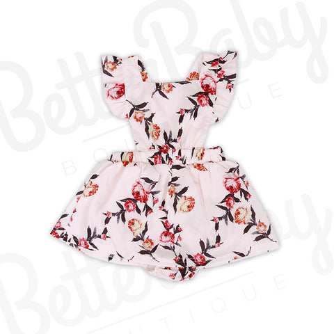 Field of Dreams Baby Girl Romper