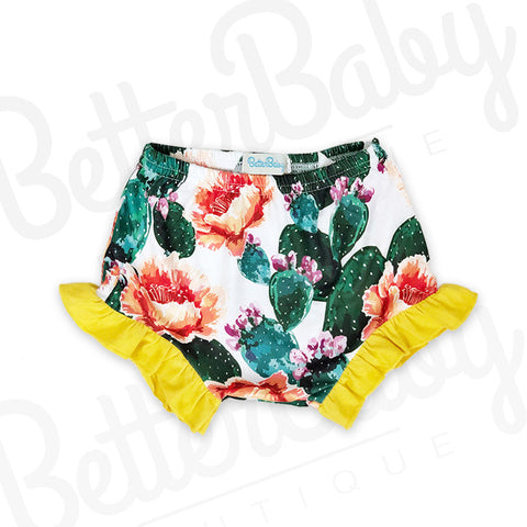 Cactus If You Can Baby Shorts