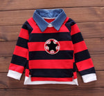 Star And Stripes Baby Boy Shirt