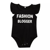 Fashion Blogger Baby Girl Romper
