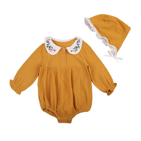 Emily Romper And Bonnet
