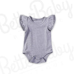 Simple Baby Girl Romper