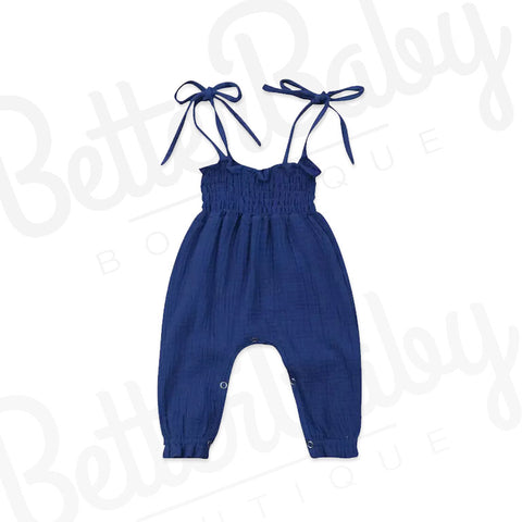 So Knotty Baby Girl Romper