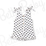 Spot On Baby Girl Romper