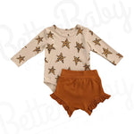 Star Girl Baby Outfit