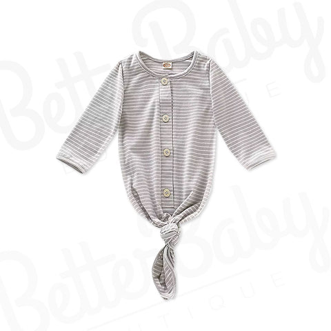 Striped Baby Night Gown