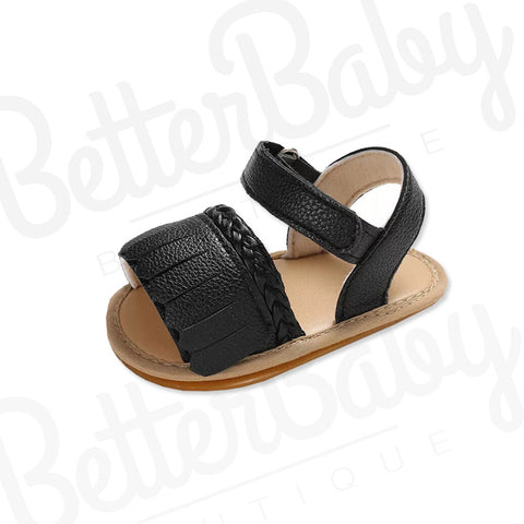 Tasseled Baby Girl Sandals