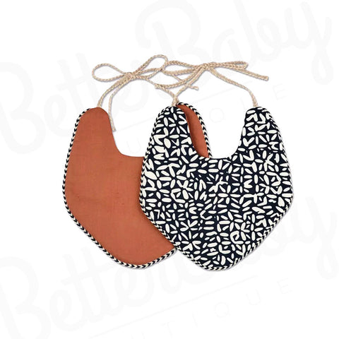 Tribal Reversible Baby Bib