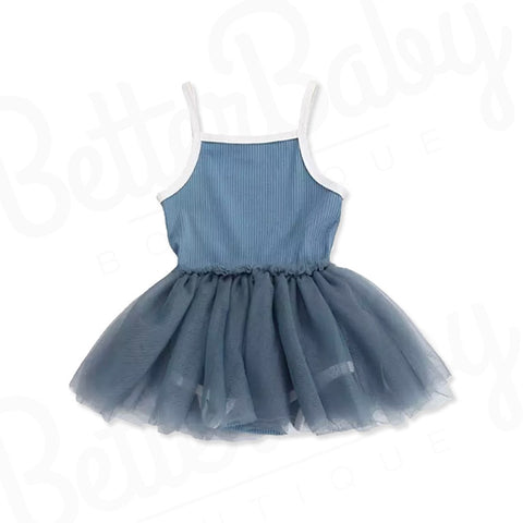 Twirls And Tulle Baby Romper