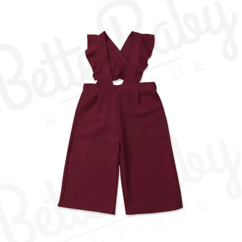 Wide Knot Baby Jumpsuit