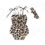 Wild Thing Baby Romper And Head Wrap