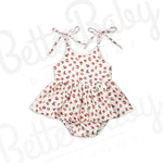 You Grow Girl Baby Romper