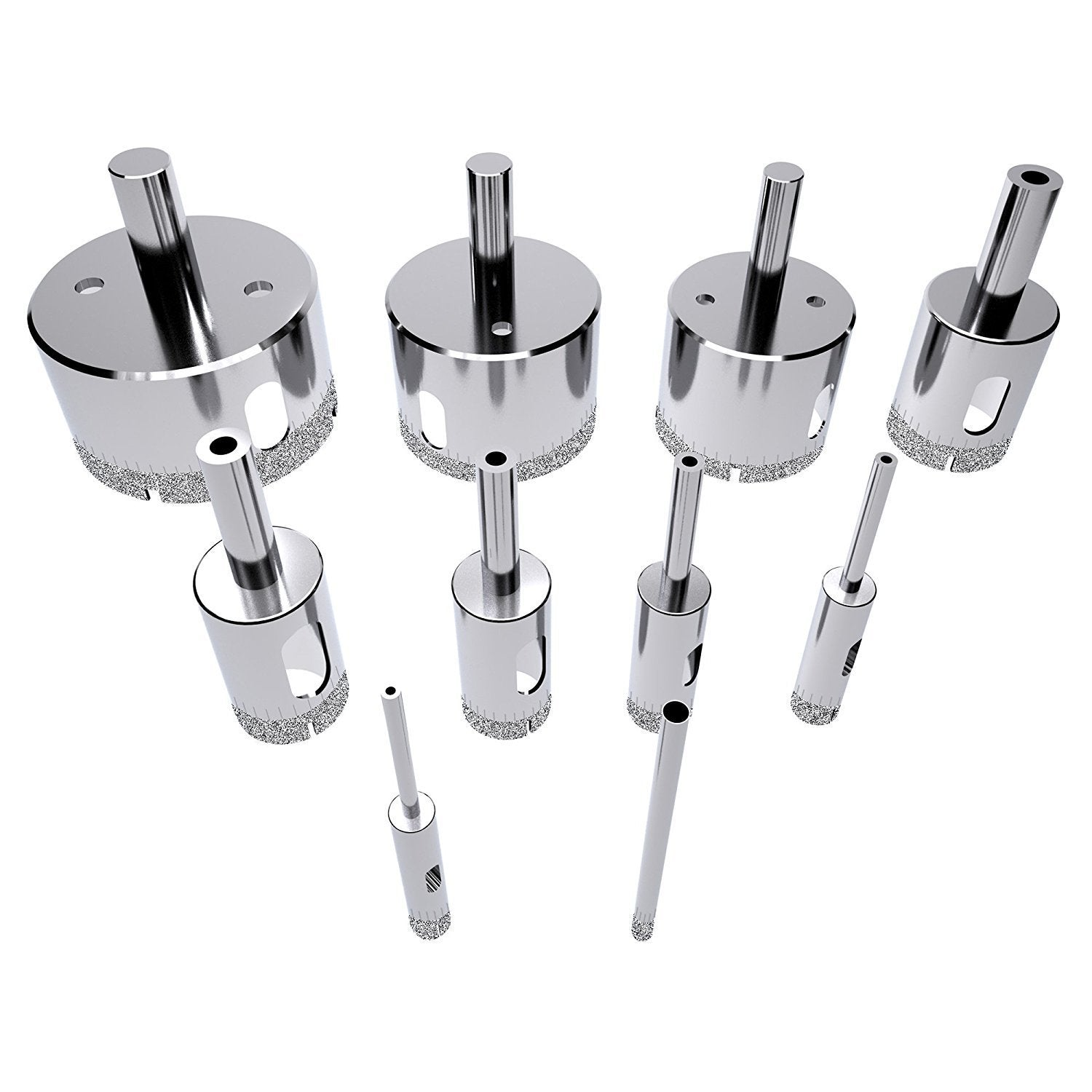 Diamond Coated Drill Bits (Set of 10) - smileyhomey