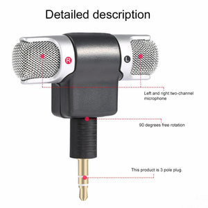 Mini Microphone with Dual-Channel
