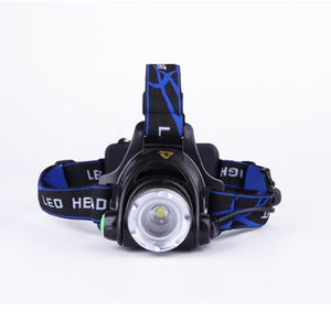 Waterproof Led Flashlight Head Torch Light for Outdoors