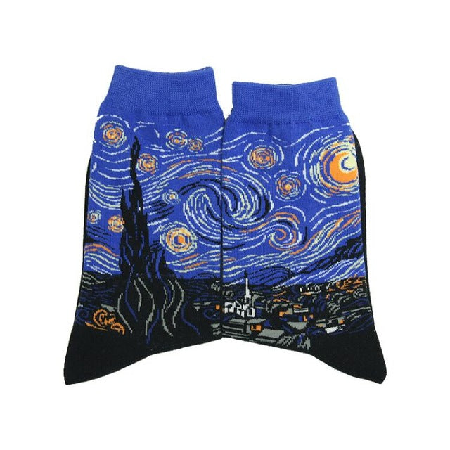 Men's Starry Night Socks