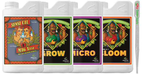 Advanced Nutrients pH Perfect® Grow, Micro, Bloom, Sensi Cal-Mag Xtra