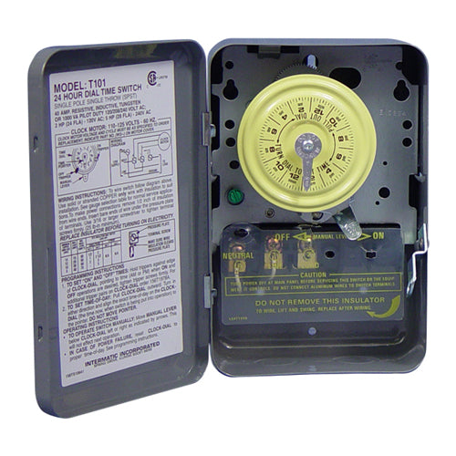 Intermatic® Heavy Duty Time Switch T-104