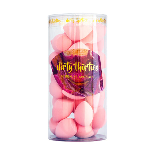 30 MINI Beauty Sponges - Light Pink