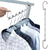 6-in-1 Multi-functional Space Saving Metal Hanger
