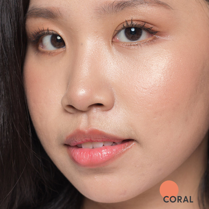Sheen. Tinted Lip Balm + UV Filter | CORAL