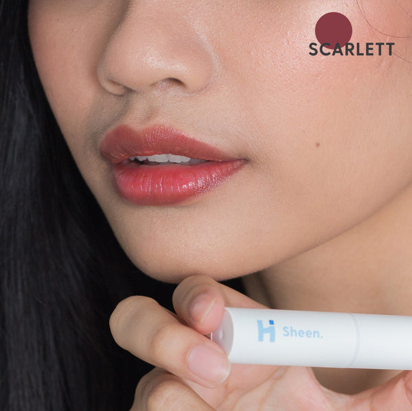 Sheen. Tinted Lip Balm + UV Filter | SCARLETT