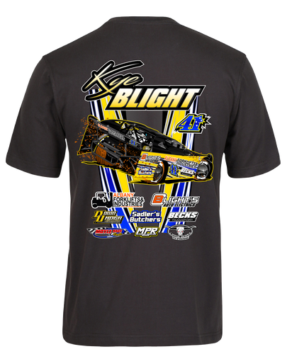 Kye Blight T-Shirt - Gunmetal