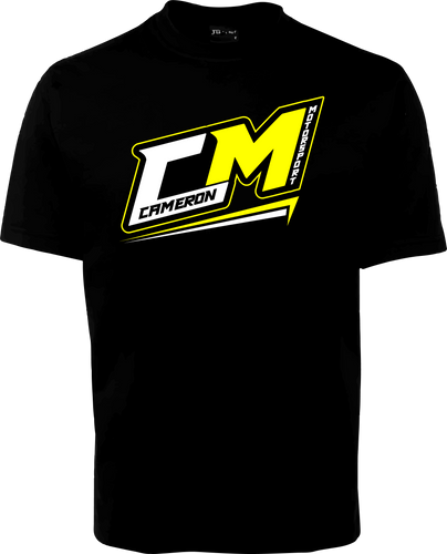 Cameron Motorsport T-Shirt 2018/2019 - Black