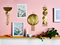brass wall hangings by juno and ace