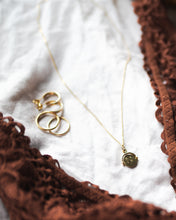 9ct Gold Spinner Necklace -  'I Love You' Spinner