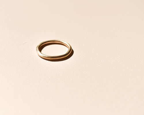 Chunky 9ct Gold Ring - Recycled Gold Ring