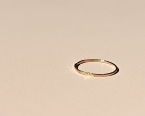 Fine Gold Ring - Recycled Gold Ring