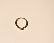 Gold Dot Ring - Recycled Gold Ring