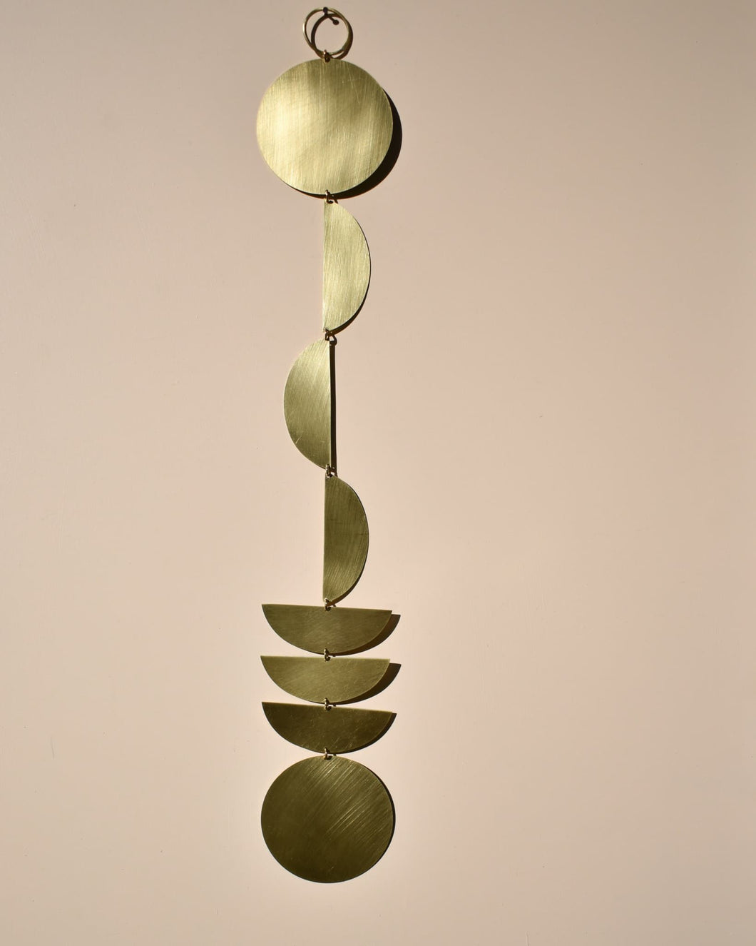 Callisto Wall Hanging in Brass - Wall Decor