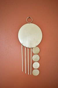 Alba Wall Hanging in Brass - Wall Decor