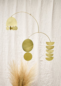 Hanging Mobile - Kinetic Mobile - Nursery Decor - Baby Mobile - Interior Decor  - Soliel