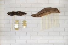 Driftwood + Brass wall hanging #02