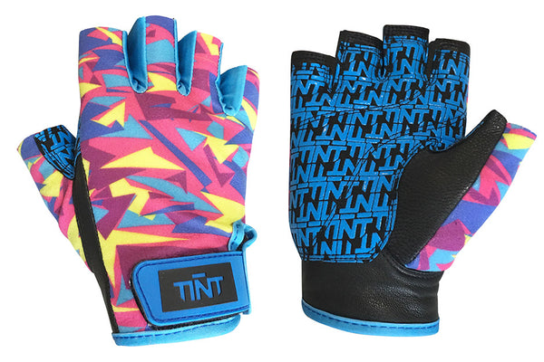 TINT Ice Cream Half Finger Gloves